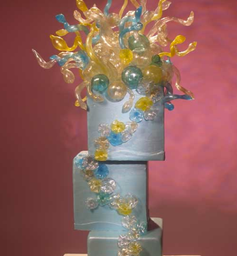 Cake Alchemy's Dale Chihuly-Inspired Cake