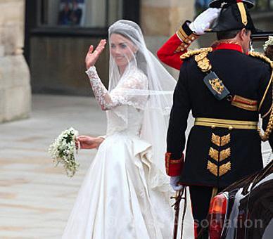 Princess Catherine in Alexander McQueen